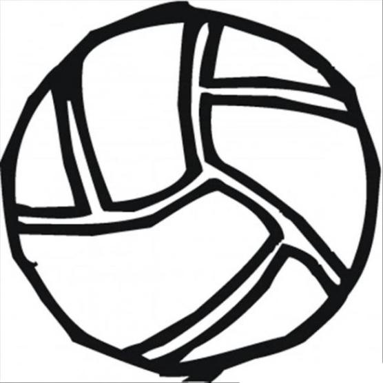 ausmalbilder zum drucken malvorlage ball kostenlos 2
