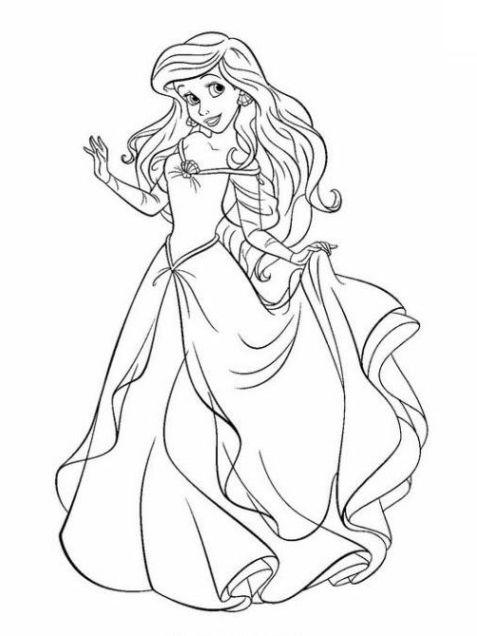 Malvorlagen Prinzessinnen Disney Coloring And Malvorlagan
