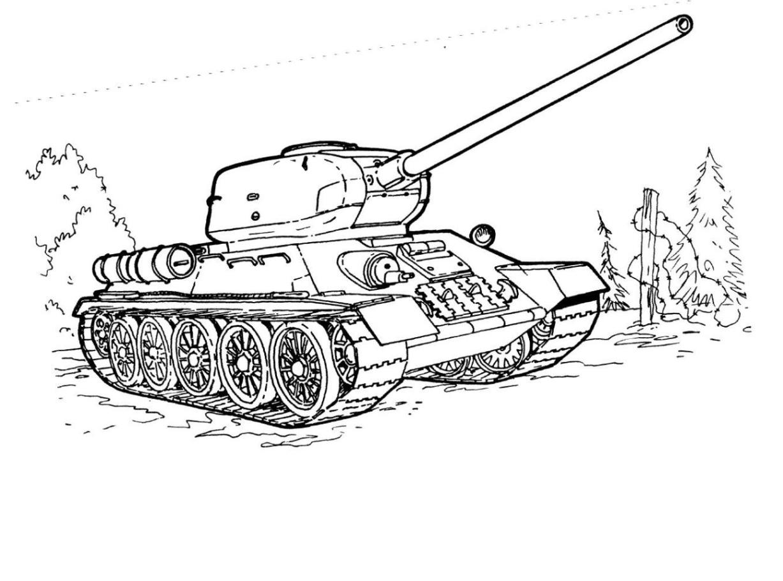 ausmalbilder zum drucken malvorlage panzer kostenlos 2