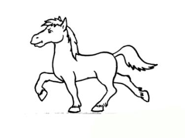 Malvorlage Pferd Kostenlos Aisdrucken Coloring And Malvorlagan