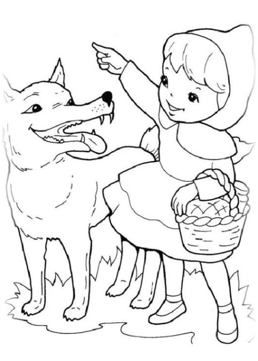 36 Rotkappchen Und Der Bose Wolf Ausmalbilder Besten Bilder Von Ausmalbilder