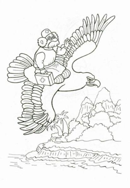 Ausmalbilder Zum Drucken Malvorlage Adler Kostenlos 1