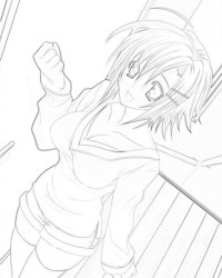 malvorlagen von anime kostenlos zum ausdrucken