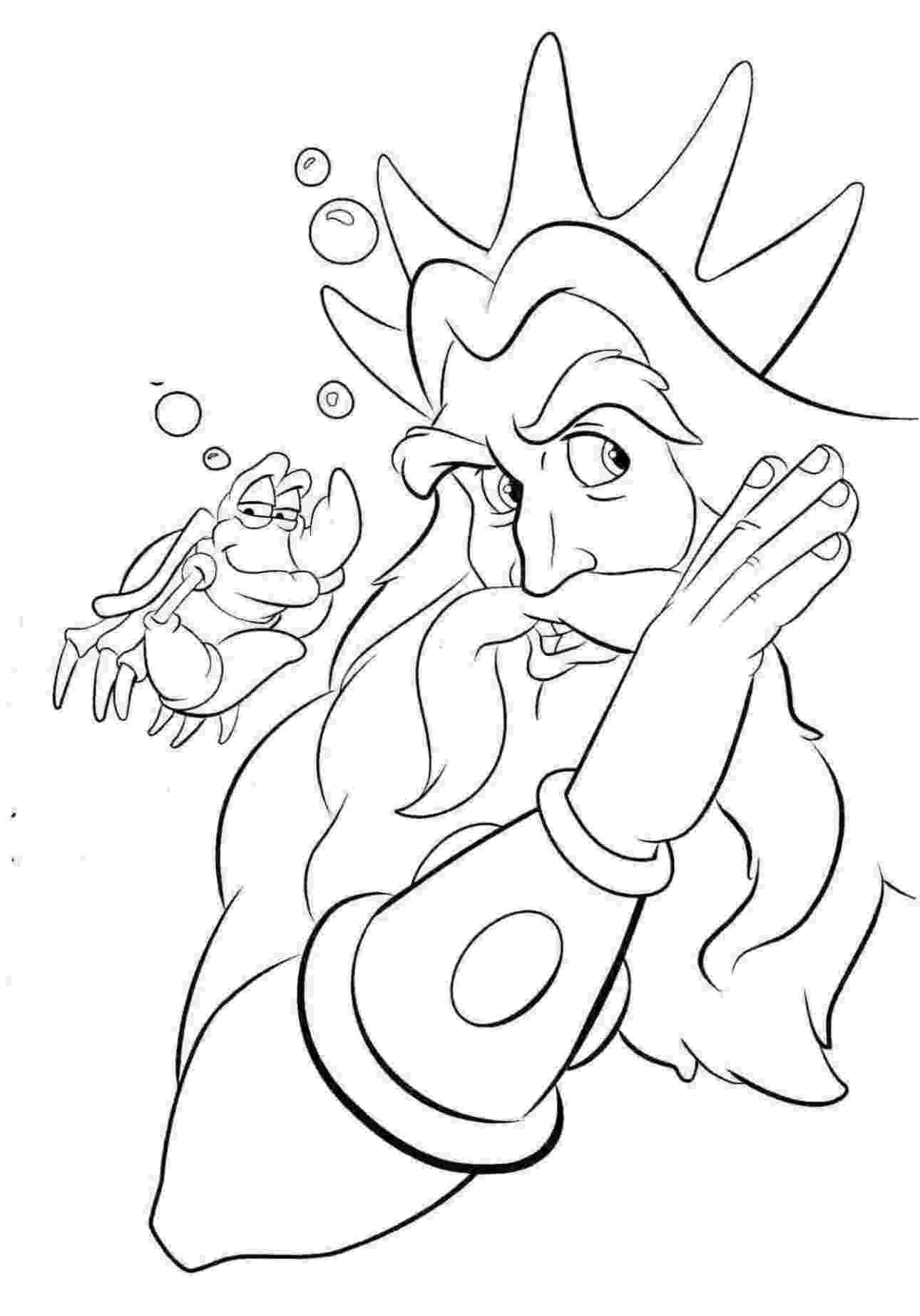 Ausmalbilder Zum Drucken Malvorlage Arielle Die Meerjungfrau