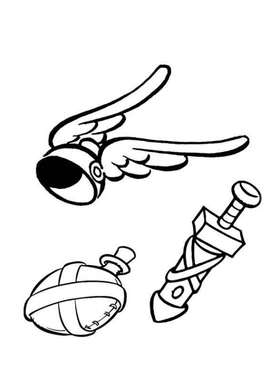 Ausmalbilder Zum Drucken Malvorlage Asterix Und Obelix Kostenlos 2