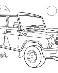 malvorlagen von autos kostenlos zum ausdrucken