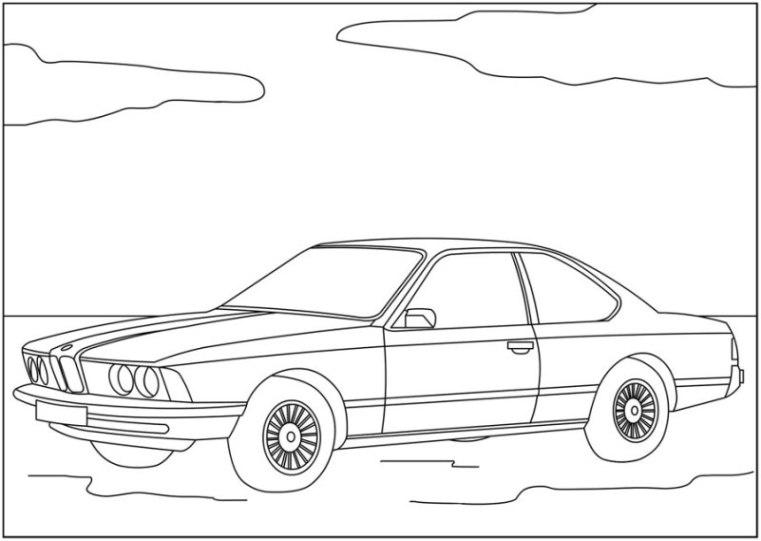 Ausmalbilder Autos Oldtimer Finden Sie Frei