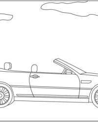 Malvorlage BMW kostenlos 2