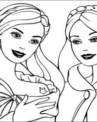 Malvorlagen Von Barbie Die Prinzessin Und Das Dorfmädchen Kostenlos