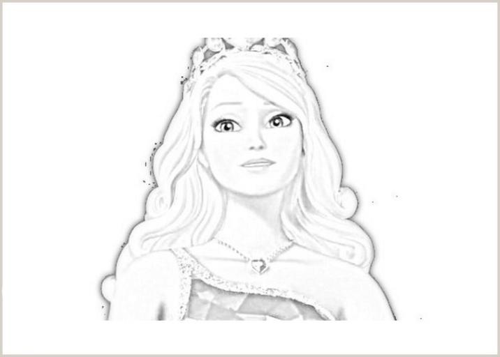Ausmalbilder zum Drucken Malvorlage Barbie Die Prinzessinnen ...