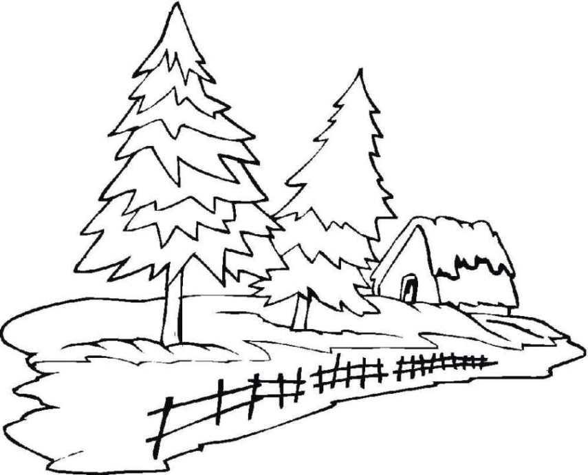 Nett Ausmalbilder Baum Fotos - Ideen färben - blsbooks.com