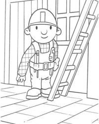 Malvorlage Bob der Baumeister kostenlos 2