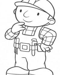 Malvorlage Bob der Baumeister kostenlos 3