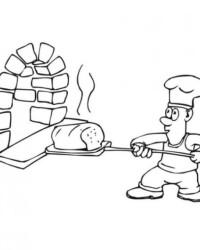 Malvorlage Brot kostenlos 1