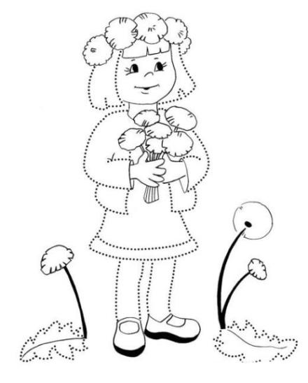 ausmalbilder zum drucken malvorlage butterblume kostenlos 3