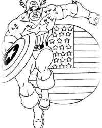 Malvorlagen Von Captain America Kostenlos Zum Ausdrucken