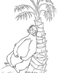Malvorlage Das Dschungelbuch kostenlos 3