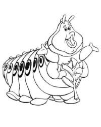Malvorlage Das große Krabbeln kostenlos 3