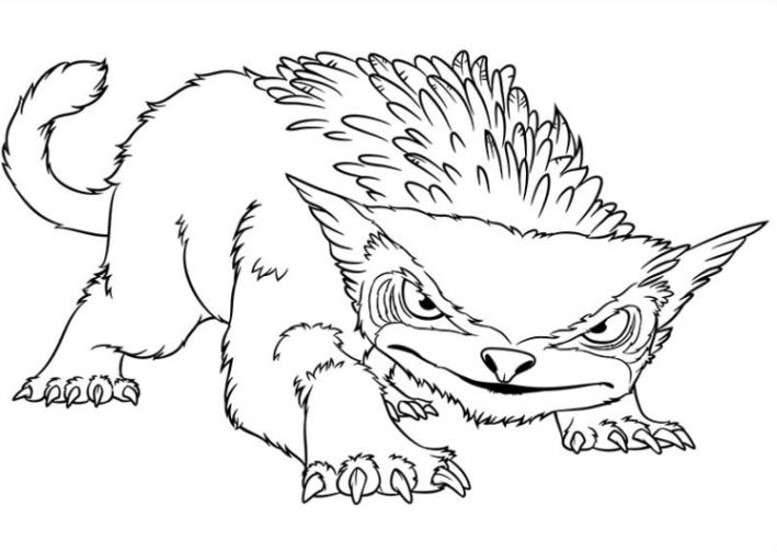 Ausmalbilder zum drucken malvorlage die croods kostenlos 1 for The croods coloring pages