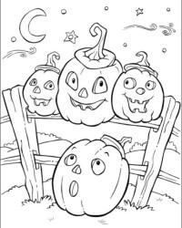 malvorlagen von halloween kostenlos zum ausdrucken