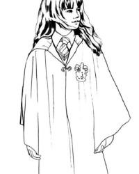 Malvorlage Harry Potter kostenlos 2