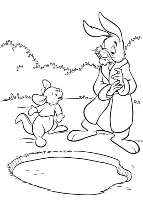 Malvorlage Heffalump – Ein neuer Freund fur Winnie Puuh kostenlos 2