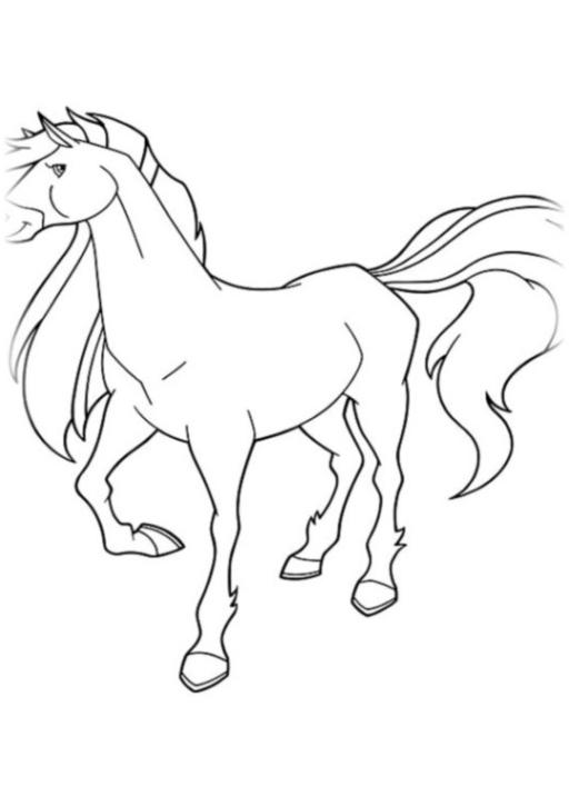 Malvorlage Horseland kostenlos 4