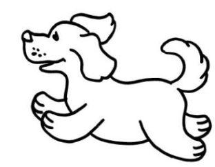 Ausmalbilder Zum Drucken Malvorlage Hund Kostenlos 3