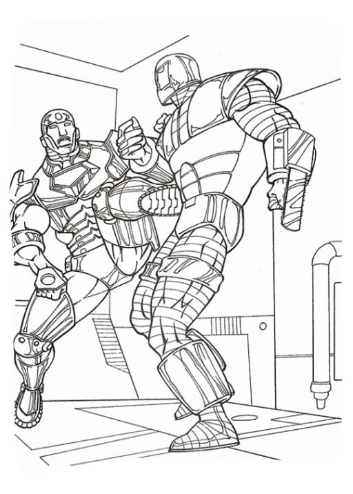 Ausmalbild Iron Man Ausmalbilder Kostenlos Zum Ausdrucken: Ausmalbilder Zum Drucken Malvorlage Iron Man Kostenlos 2