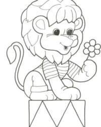 Malvorlage Löwe kostenlos 4