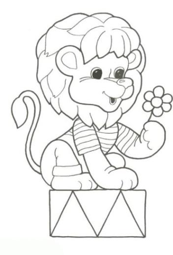 Ausmalbilder Zum Drucken Malvorlage Löwe Kostenlos 4