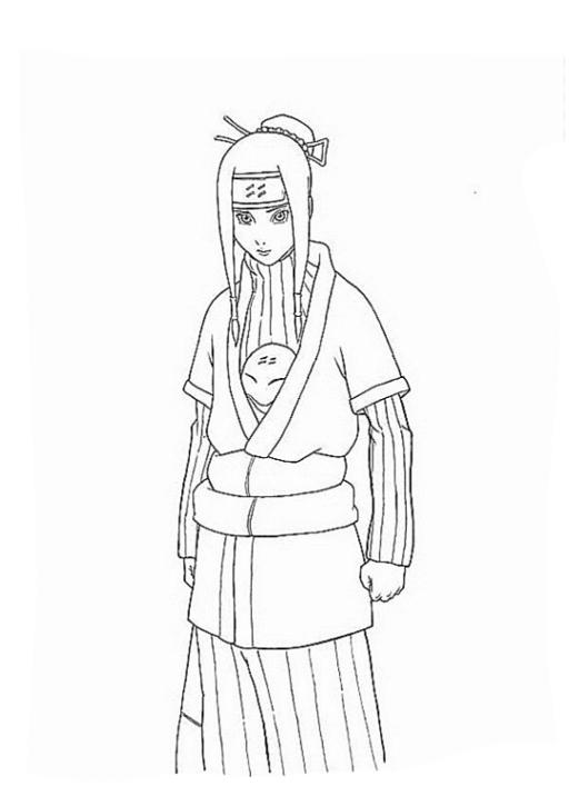 Ausmalbilder Zum Drucken Malvorlage Naruto Kostenlos 2