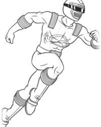 Malvorlage Power Rangers kostenlos 2
