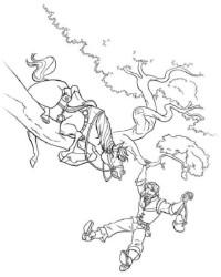 Malvorlage Rapunzel – Neu verföhnt kostenlos 2