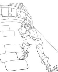 Malvorlage Rapunzel kostenlos 2