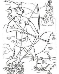 Malvorlagen Von Robin Hood Kostenlos Zum Ausdrucken