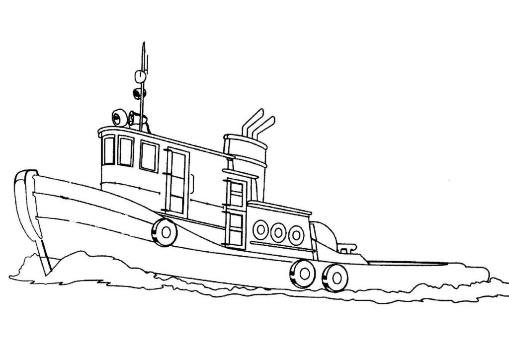 Malvorlage Schiff kostenlos 5