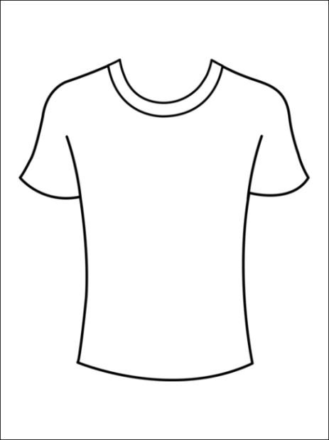 Ausmalbilder zum drucken malvorlage t shirt kostenlos 2 for T shirt printing pdf