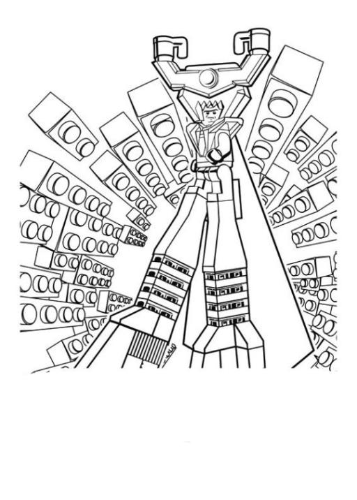 Ausmalbilder Zum Drucken Malvorlage The Lego Movie Kostenlos 2