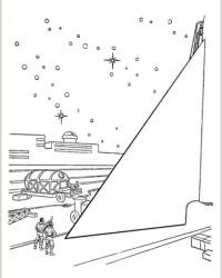 Malvorlage Tom Corbett, Space Cadet kostenlos 2