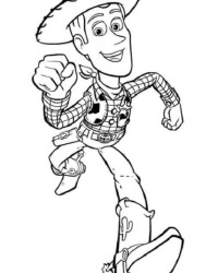 Malvorlage Toy Story kostenlos 2