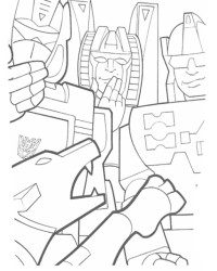 Malvorlage Transformers kostenlos 1