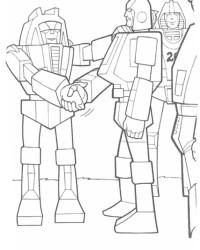 Malvorlage Transformers kostenlos 2