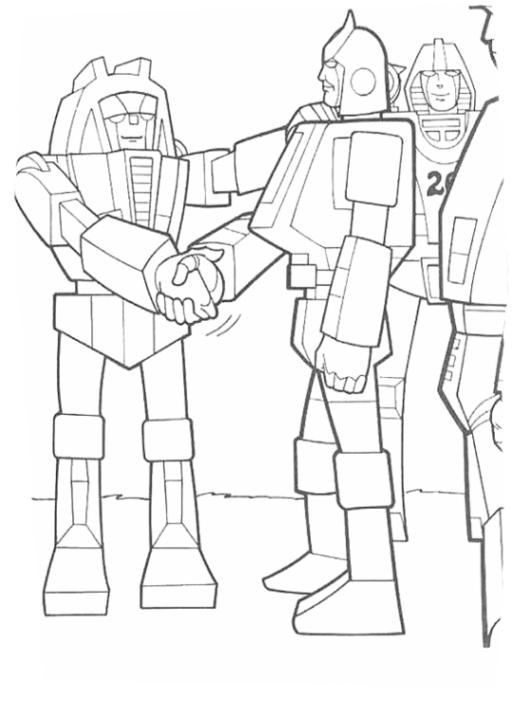 Ausmalbilder Zum Drucken Malvorlage Transformers Kostenlos 2