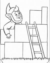 Malvorlage Treppe Leiter kostenlos 2