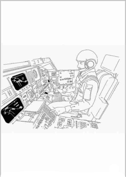 Ausmalbilder Zum Drucken Malvorlage Weltraum Kostenlos 1