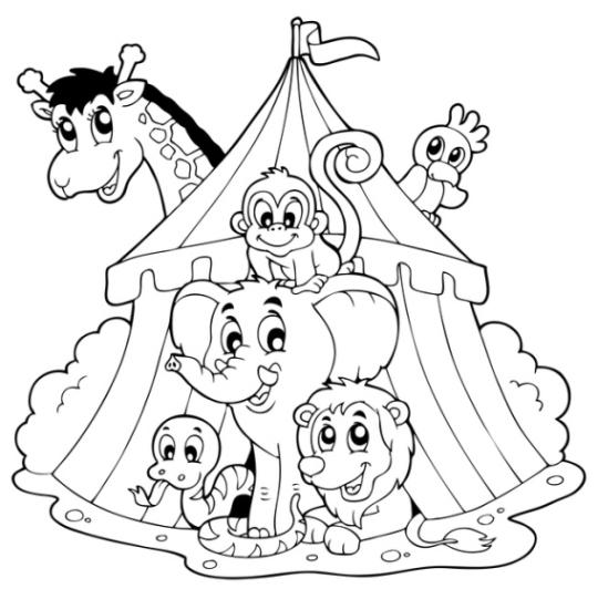 Malvorlagen Zirkus Zum Ausdrucken My Blog