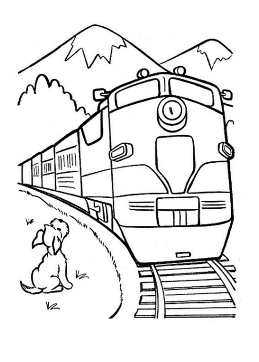 Berühmt Zug Malvorlagen Fotos - Ideen färben - blsbooks.com