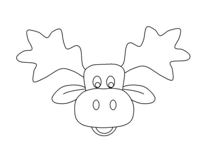 Elch Vorlage Kostenlos : ausmalbilder zum drucken malvorlage elch kostenlos 1 ~ Lizthompson.info Haus und Dekorationen